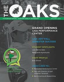 IJGA Newsletter: The Oaks