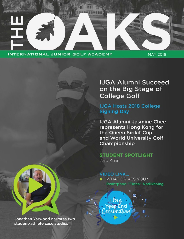 IJGA Newsletter: The Oaks May 2018