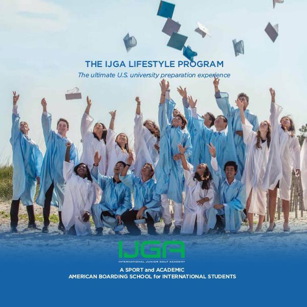 IJGA Lifestyle Program 2019