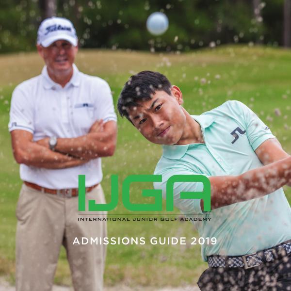 IJGA Admissions Guide IJGA Admissions 2019