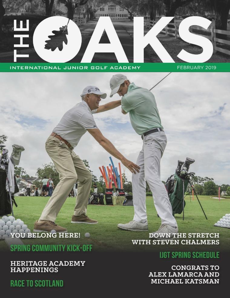 IJGA Newsletter: The Oaks February 2019
