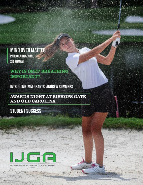 IJGA Newsletter: The Oaks January 2020