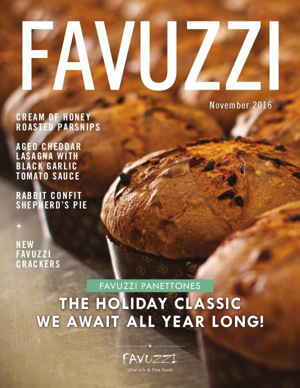 Favuzzi Magazine (English) November 2016