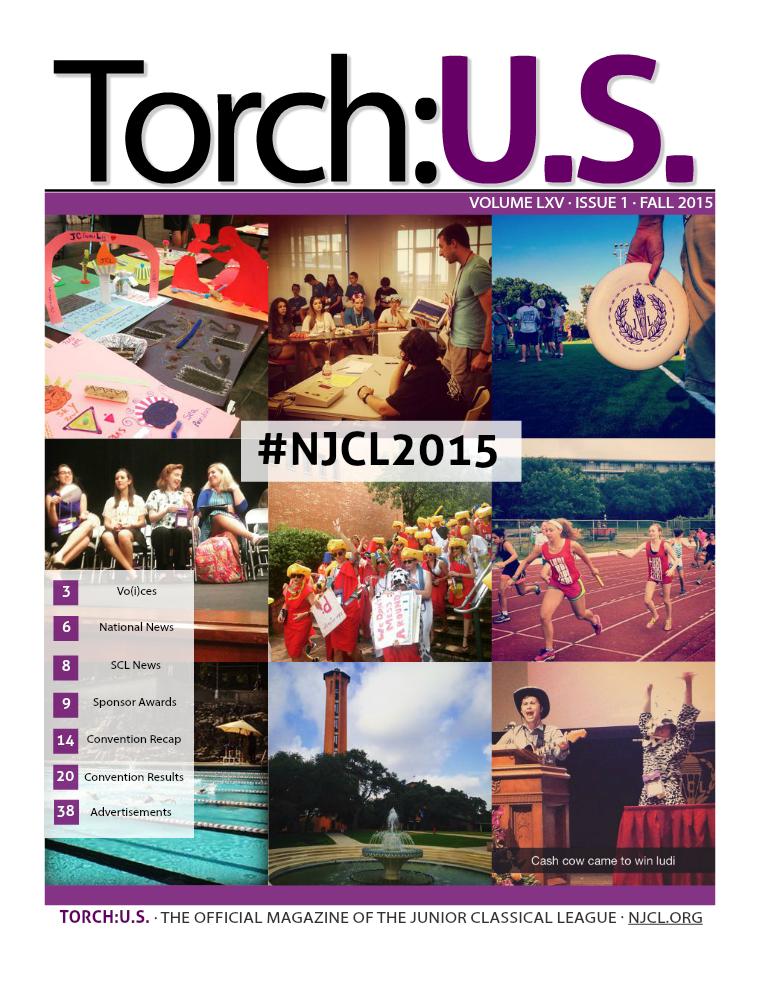 Torch: U.S. Volume LXV Fall 2015