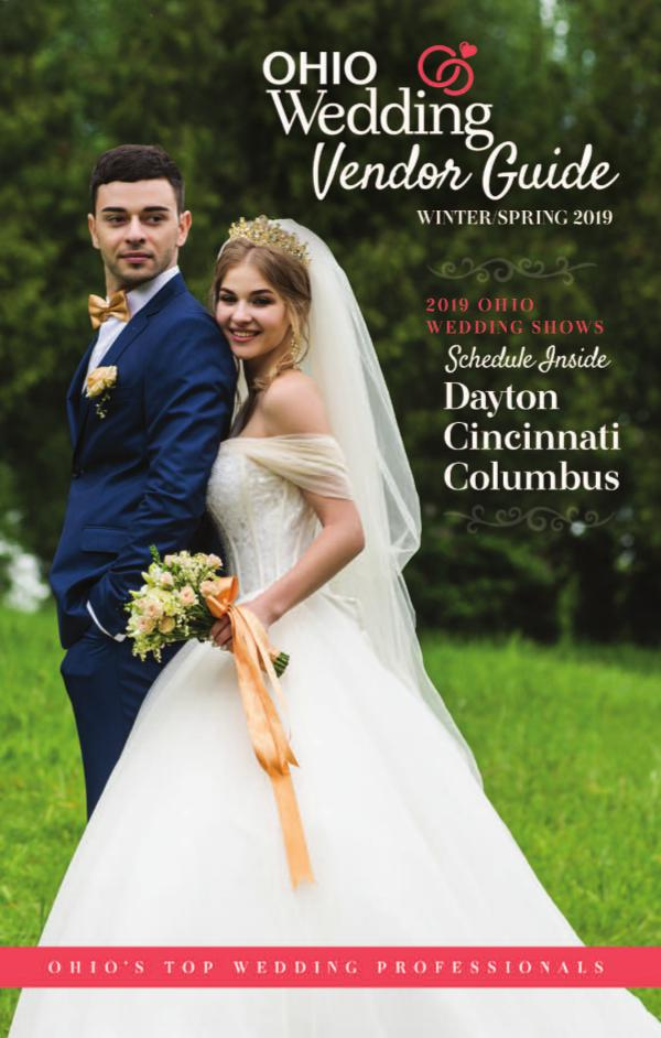 Ohio Wedding Shows 2019 Vendor Guide