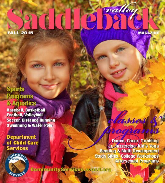 Saddleback Valley Magazine Fall 2015