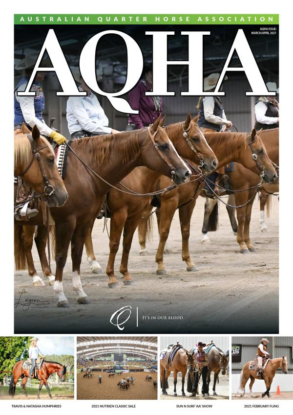 AQHA MAGAZINE March / April 2021