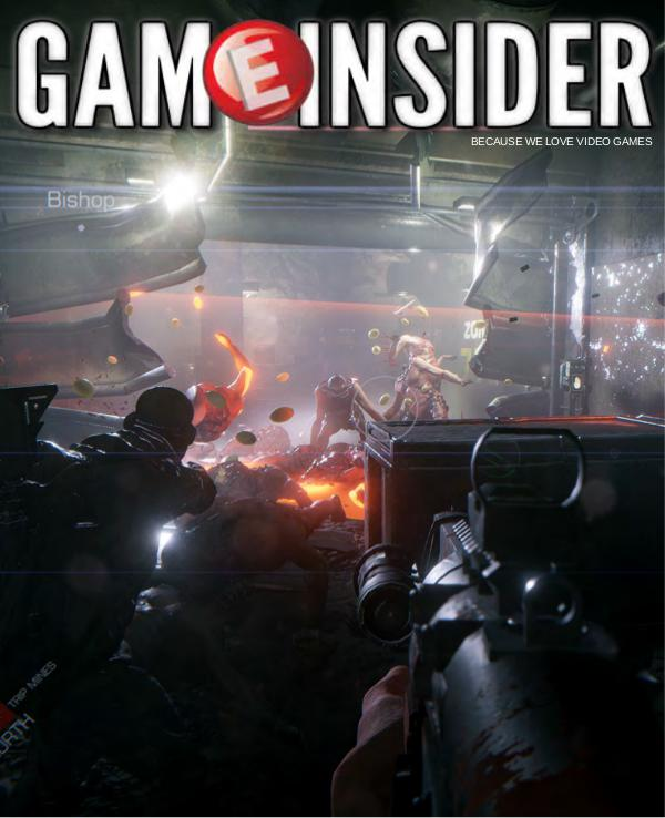 Game Insider GTFO Cover Issue
