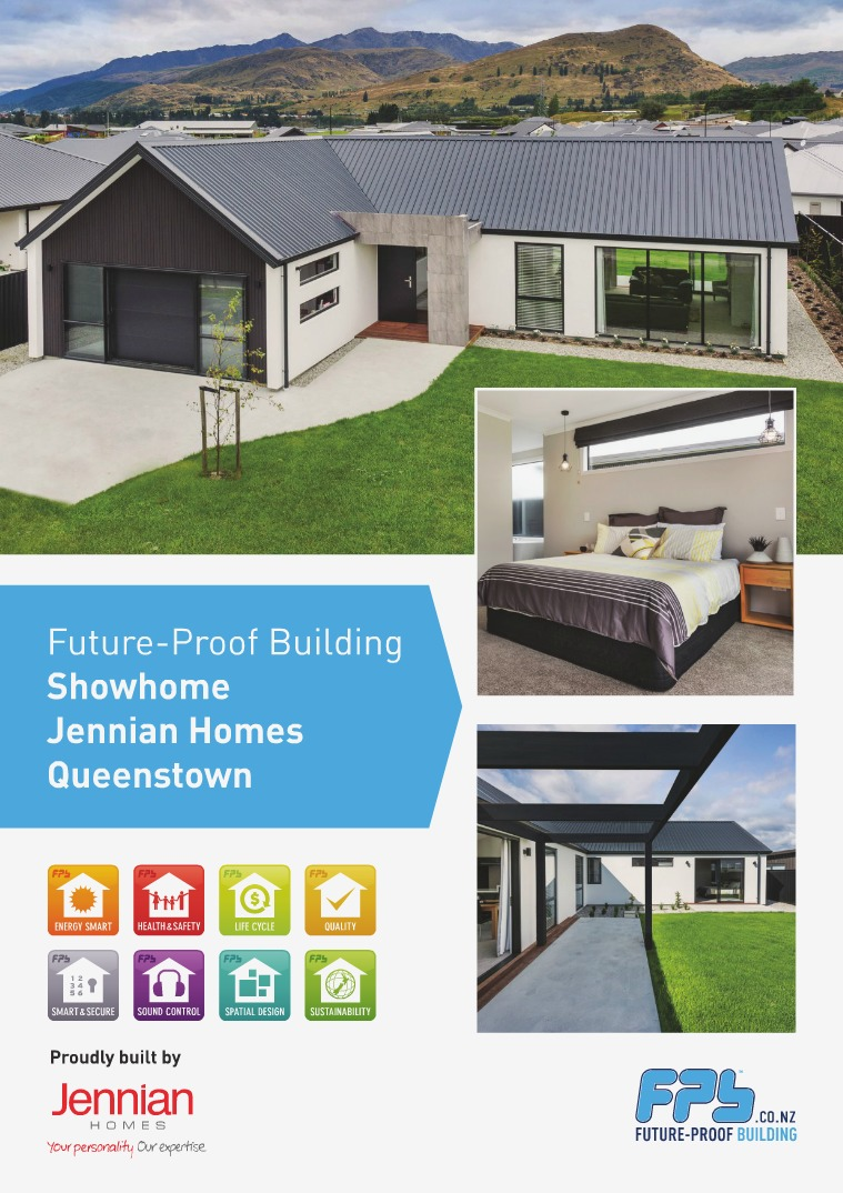 Queenstown Showhome built by Jennian Homes