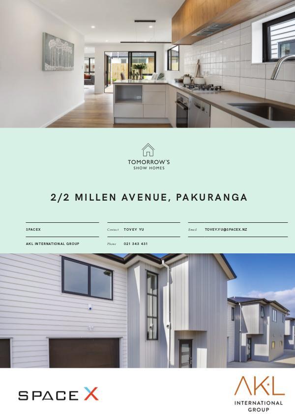 Tomorrow's Show Homes 2/2 Millen Avenue, Pakuranga