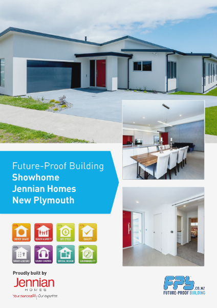 New Plymouth Showhome built by Jennian Homes
