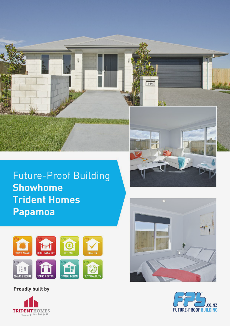 Papamoa Showhome built by Trident Homes