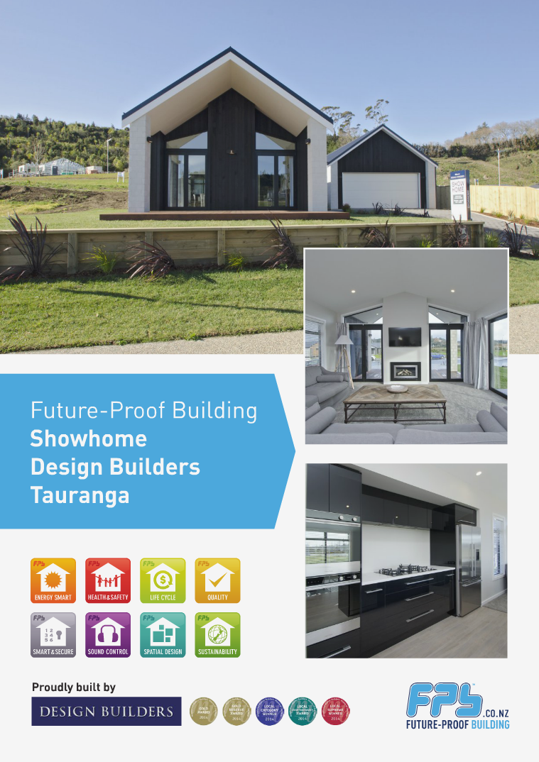 Tauranga Showhome built by Design Builders