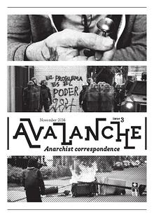 Avalanche - The Anarchist correspondence zine