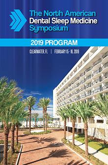 2019 NADSM Symposium Program