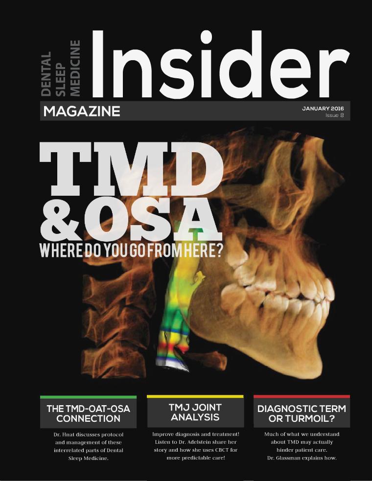 Dental Sleep Medicine Insider January 2016