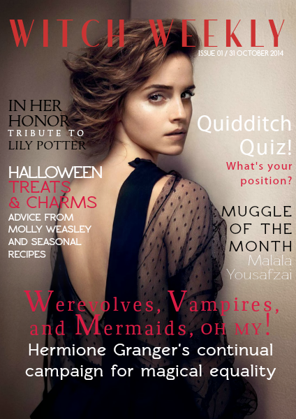 Witch Weekly Magazine First Issue - 31 October 2014