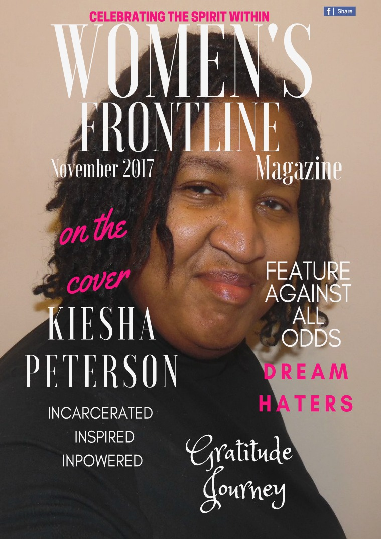 WOMEN'S FRONTLINE MAGAZINE ISSUE NOVEMBER 2017