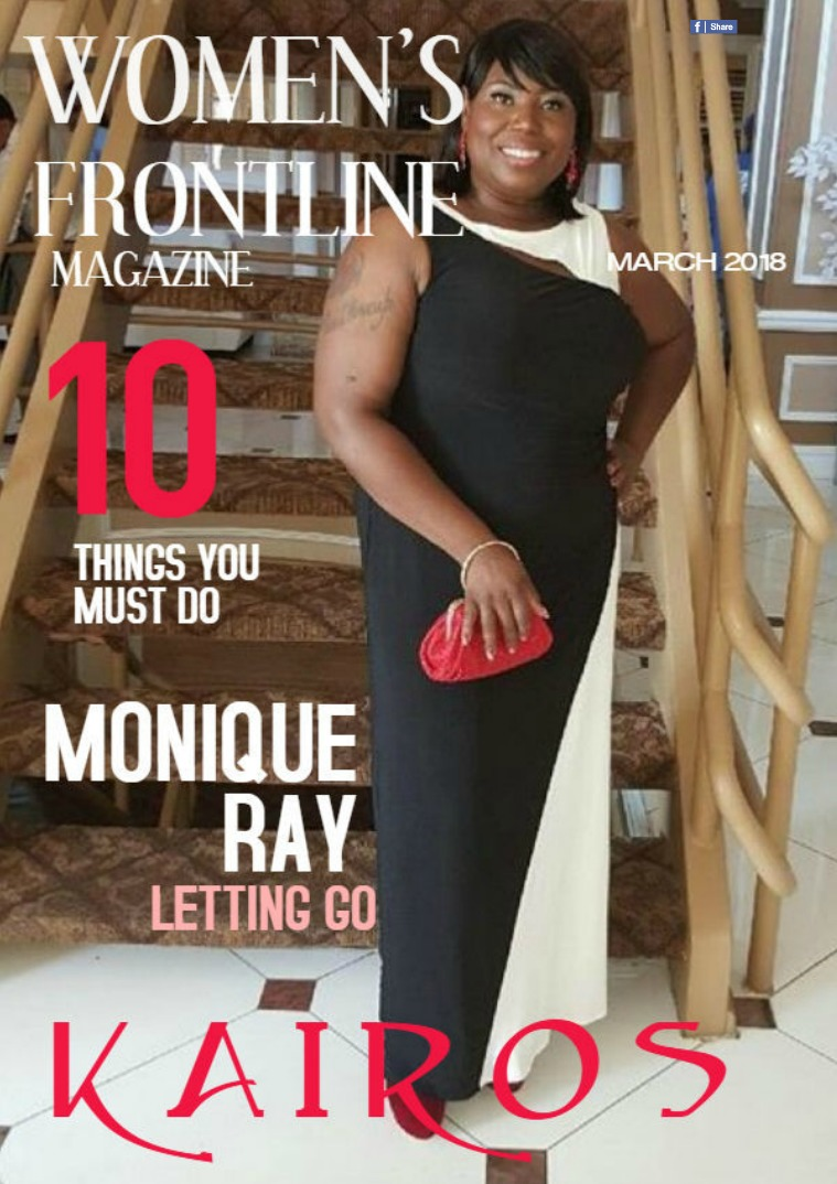 WOMEN'S FRONTLINE MAGAZINE ISSUE March 2018