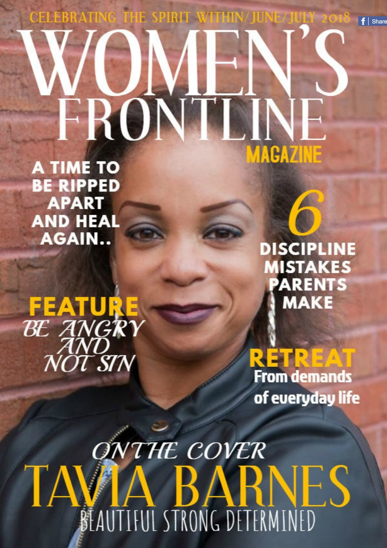 WOMEN'S FRONTLINE MAGAZINE ISSUE June/July 2018