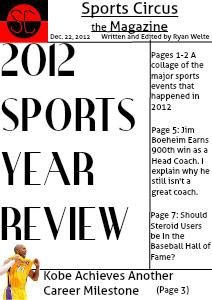 December 22nd, 2012 Edition