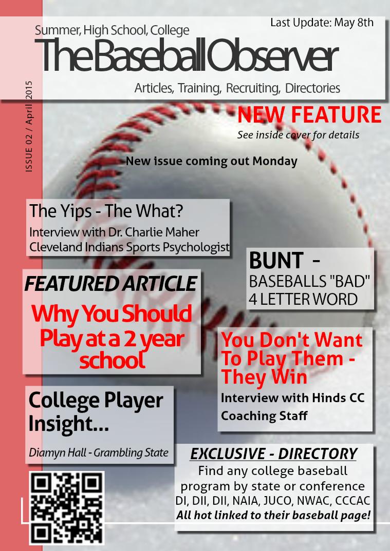 The Baseball Observer April 2015 vol 2