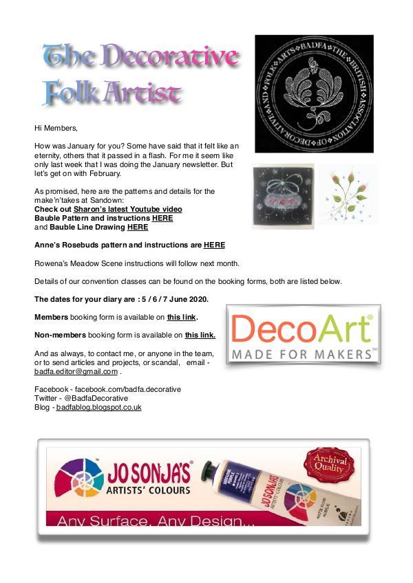 The Decorative Folk Artist Issue 128