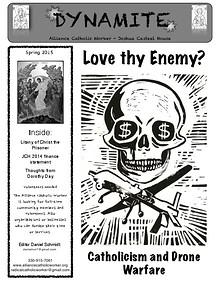 Dynamite - Alliance Catholic Worker Newsletter