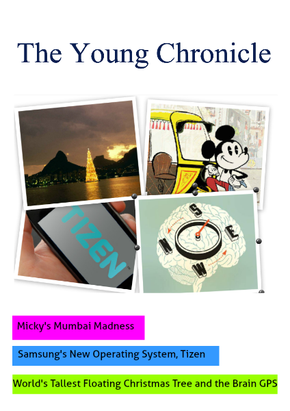 The Young Chronicle: For 2nd Graders December 5th, 2014