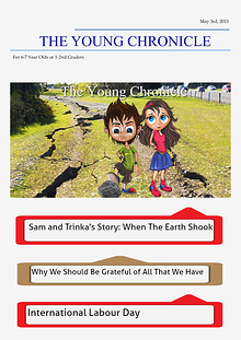 The Young Chronicle: For 1st Graders