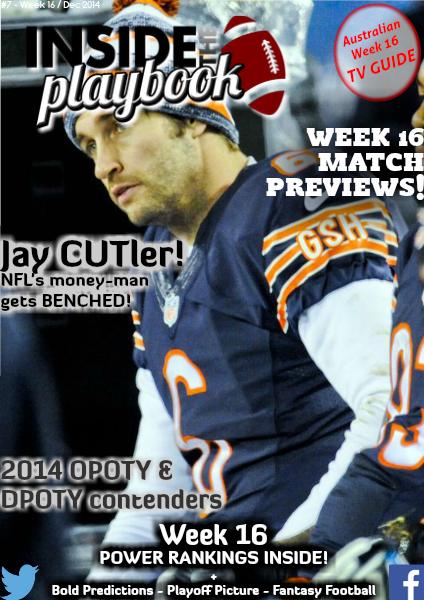 Inside The Playbook Week 16 2014