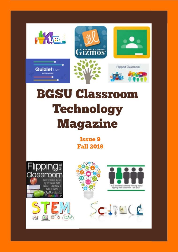BGSU Classroom Technology E-Mag Fall 2018