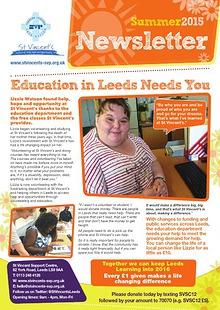 St Vincent's Support Centre Newsletter