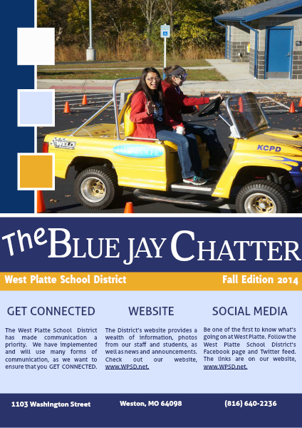 The Blue Jay Chatter Fall 2014