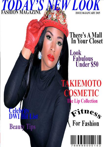 NEW LOOK FASHION MAGAZINE Issue 6/January 2015