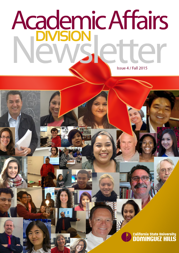 Academic Affairs Newsletter Fall 2015, Issue 4