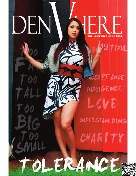 DenVhere Magazine: DenVhere Magazine: The Tolerance Issue 2015