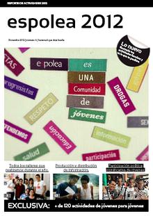 Espolea: Reporte de actividades 2013