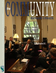 Community Bankers of Iowa Monthly Banker Update May 2013