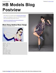 HB Models Management Blog