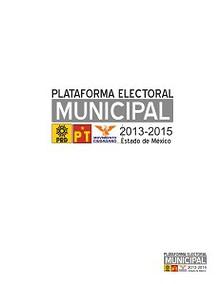 Plataforma Municipal de Izquierda 2013 2015