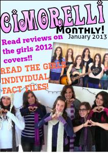 Cimorelli Monthly January 2013