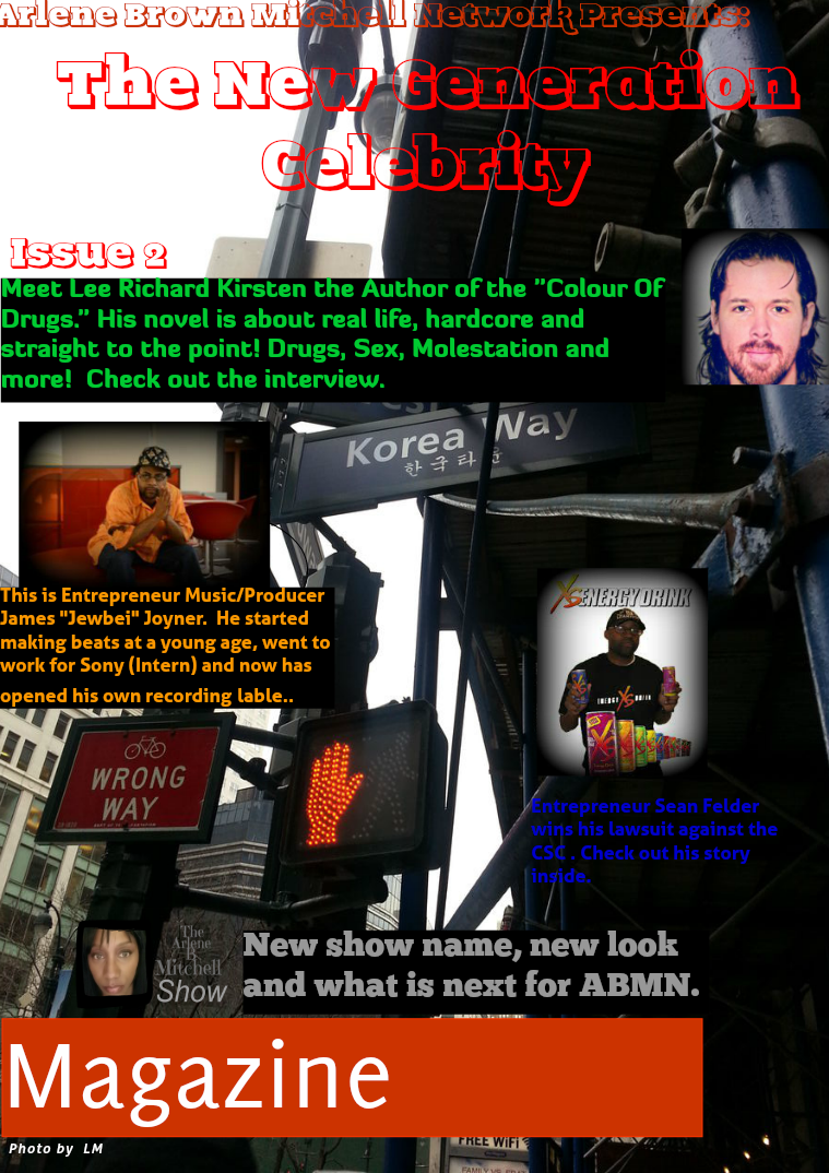 Arlene Brown Mitchell Network Presents: The New Generation Celebrity Issue 2