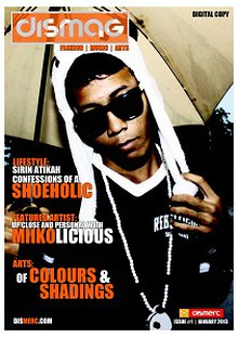 DISMAG ISSUE #1 JANUARY 2013