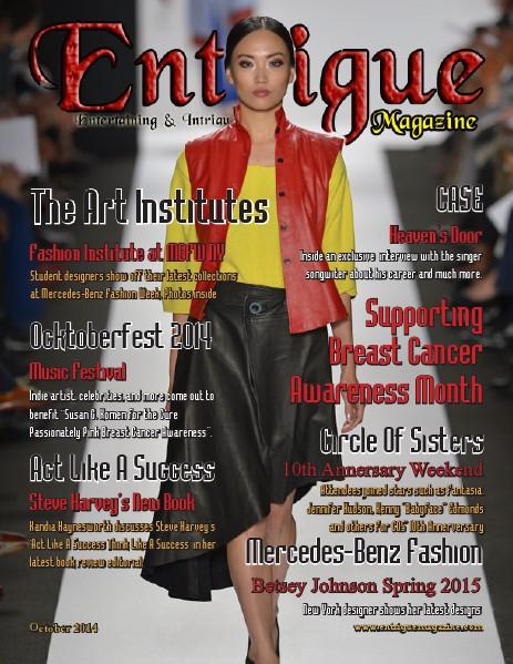Entrigue Magazine December 2014 October 2014 (Fashion Cover)