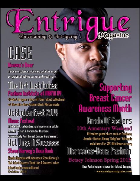 Entrigue Magazine December 2014 October 2014 (Case Cover)