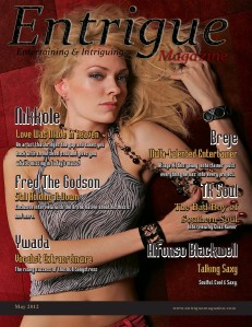 Entrigue Magazine December 2014 May 2012 (Fred The Godson & Nikkole double cover)