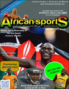 African Sports Monthly January 2013 Issue