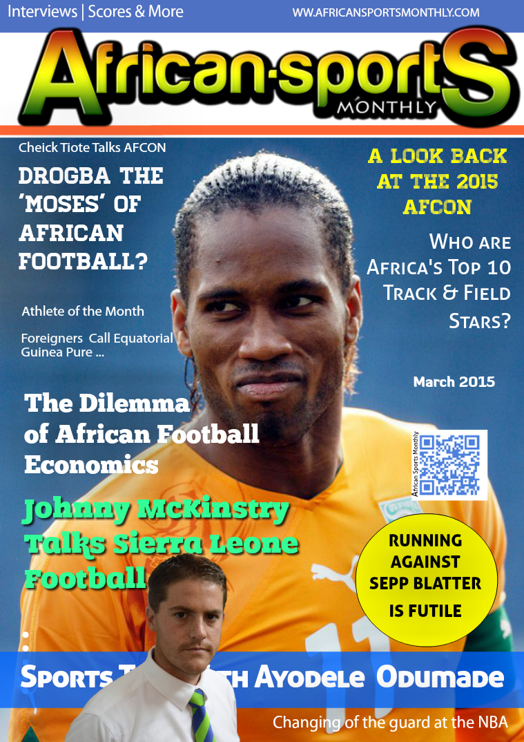 African Sports Monthly Mar, 2015