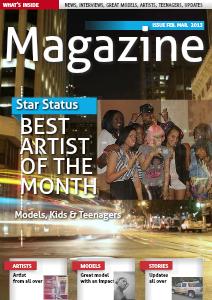 Star Status Magazine Feb.Mar. 2013